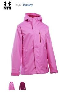 a29b70971339 Under Armour ColdGear Infrared Storm 2 Gemma 3-in-1 Jacket Girl s Sz ...
