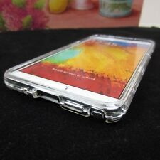 Clear See-Thru Hard Plastic Case Cover for Samsung Galaxy Note III 3 N9000