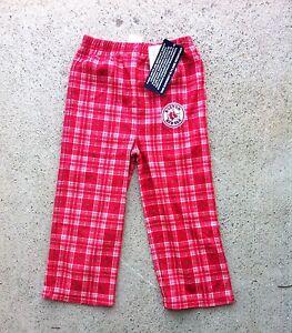 NWT BOSTON RED SOX FLANNEL BOYS FLEECE CHRISTMAS PLAID PAJAMAS PJS ...