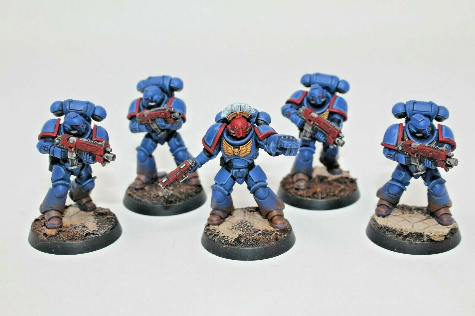 Warhammer Space Marines Primaris Intercessors Well Painted - JYS96