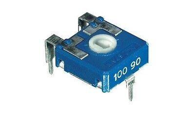 4pz trimmer 14x14 220 KOhm orizzontale regolazione con cacciavite cod AB//113220