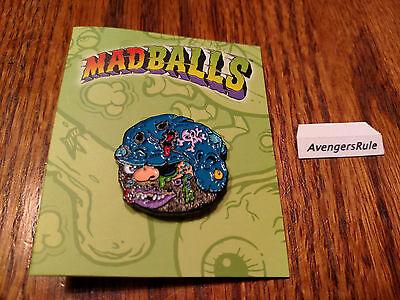 Bruise Brother Kidrobot Madballs Enamel Pin Series 1