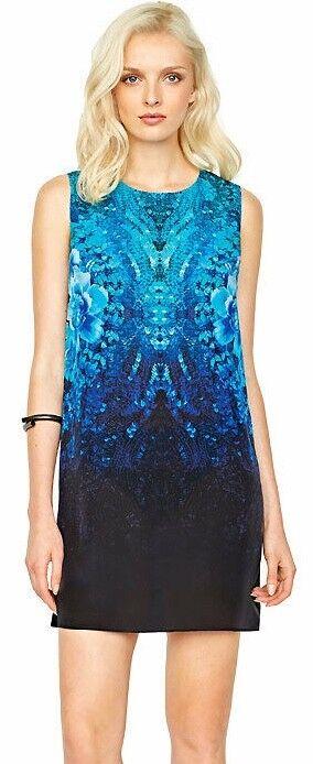 Gottex Emerald Isle Silk strand Dress Storlek Medium Brand Nya etiketter