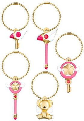 Bandai Card Captor Sakura Die Cast Charm Key chain Hoshi no Tsue Star Wand