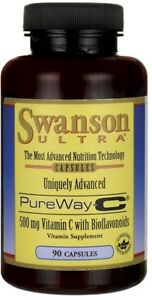 SWANSON-Pureway-C-500mg-con-bioflavonoidi-90-TAPPI-GRATIS-P-amp-P
