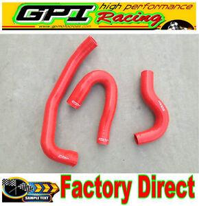 RED-Silicone-radiator-hose-for-Navara-D22-3-0-TDi-ZD30-Turbo-Diesel-2001-2006
