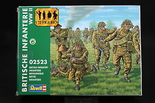 XP029 REVELL 1/72 figurine 2523 Infanterie britannique WWII Bristih infantry