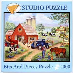 Bits-amp-Pieces-John-s-Farm-1000-Piece-Studio-Jigsaw-Puzzle