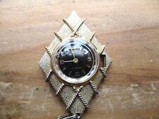 Vintage Buler Reloj Colgante Para Repuestos,, falta tallo Corona,,, SIN PROBAR