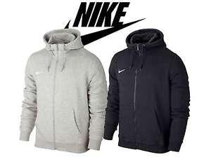 165189349817 Nike Jumper Men and Youth Team Club Fleece Hoodie with Zip ...