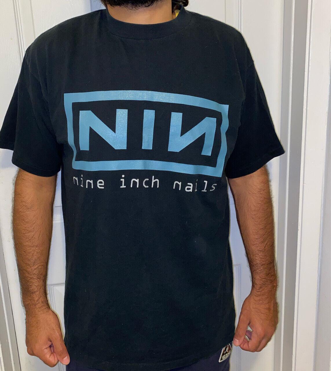 Nine Inch Nails Vintage T Shirt 90's 1996 Concert… - image 1