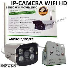 TELECAMERA SENSORE MOVIMENTO IPCAMERA HD PER SAMSUNG GALAXY A7 II 2 - 2016