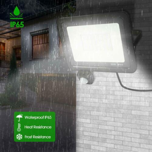 LED Floodlight Outside Lights 10W//20W//30W//50W Security Light Outdoor Garden IP65
