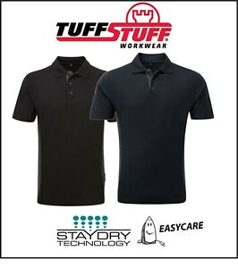 TUFFSTUFF-Quality-Men-039-s-WORK-Play-Polo-SHIRT-Stay-Dry-Easy-Care-S-M-L-XL-2XL