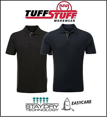 TUFFSTUFF Heavy Duty Men/'s WORK SHIRT Reduce Sweat Patches with STAY DRY TECH