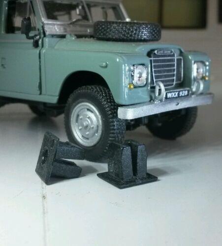 Land Rover Series 2a 3 фары переднего крыла отделкой винты и пластиковая гайка фитинга набор