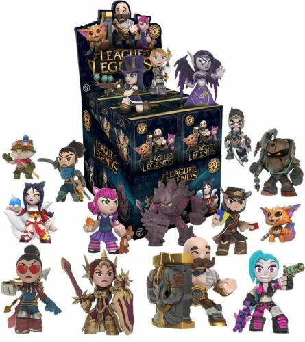 Funko Mystery Mini League of Legends Series 1-2 Blind Boxes