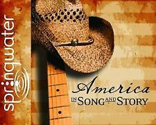 New AMERICA IN SONG AND STORY 5-CD Audio Radio Theater Homeschool History