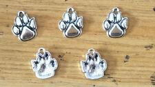 "Free shipping 15pcs Retro style ""bear's paw"" alloy Charm pendants 19x15mm"