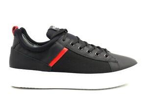 Nero-Giardini-A901292U-Nero-Sneakers-Casual-Sportive-Scarpe-Uomo