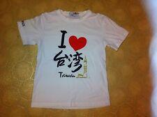 Taipei 101 I Heart Love Taiwan White T-shirt Shirt Unique Lover Taiwanese Cool