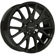 "4-Vision 18 Hellion 17x7.5 5x4.5"" +40mm Gloss Black Wheels Rims 17"" Inch"