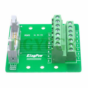 IDC 10pin port plug adapter connector header Terminal Breakout PCB Board 2 row