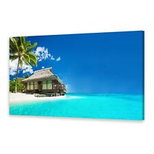 Leinwand-Bilder Wandbild Druck auf Canvas Kunstdruck Tropische Malediven