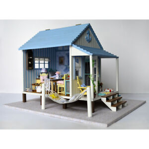 DIY-Handcraft-Miniature-Project-Wooden-Dolls-House-Music-The-Happiness-Coast-Kit
