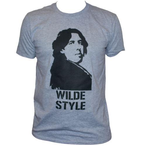 Oscar Wilde T shirt Art Writer Inspirational Quote Retro Printed Men/'s Women/'s