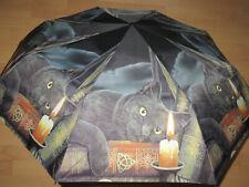 Fantasy Regenschirm Schirm Taschenschirm schwarze Katze Lisa Parker Absinth