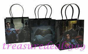 Image Is Loading 20 PCS BATMAN SUPERMAN PARTY FAVORS GOODIE GIFT