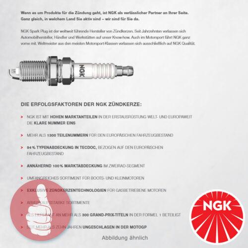 5 x Original NGK Zündkerzen mit 3-Masseelektroden 91785