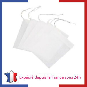Lot-de-Filtre-a-The-en-Papier-Sachets-Jetable-a-The-Vrac-Sac-Filtrant-a-The
