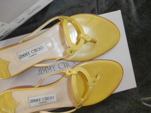 Sandles Usato Choo Lime Womens Flat Jimmy 6gx8U