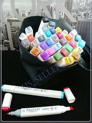 Markers TOUCH LIIT rival Copic design custom 36 color set Gen 6 twin tip pen