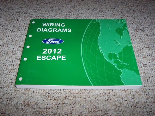 2012 Ford Escape Electrical Wiring Diagram Manual Xls Xlt