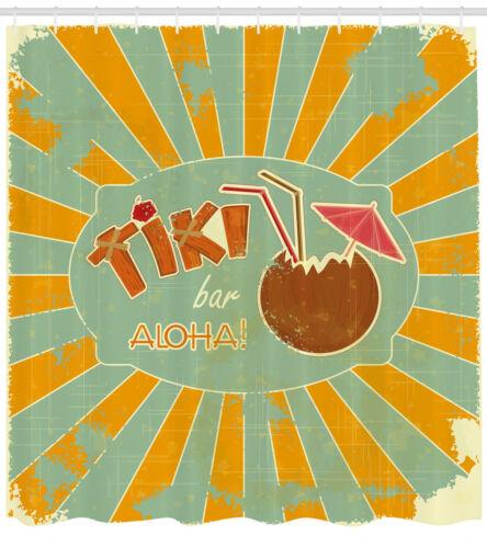 Aloha Spaß-Party Tiki Bar Duschvorhang