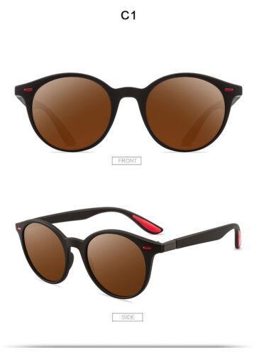 New Men Women Round Polarized Driving Sunglasses Eyewear Shades Outdoor UV400