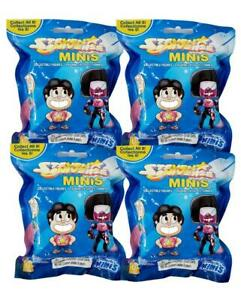 Steven-Universe-Minis-Collectible-Figures-Series-1-Lot-of-4-Blind-Bag-NEW-SEALED