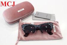 b6f71449e91  New Never Used  Miu Miu Rasoir Burgendy Sunglasses SMU 01Q 50-22 1AB