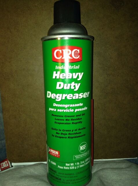 CRC Heavy Duty Degreaser, 19 oz Aerosol Can, Clear