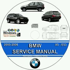 bmw x5 e53 2000 2006 factory service repair manual ebay rh ebay com 2006 bmw x5 4.8is owner's manual 2006 bmw x5 owners manual