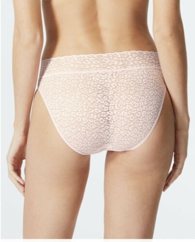 M/&S COLLECTION 4 PACK BLACK /& WHITE or PINK MIX ALL OVER LACE HIGH LEG KNICKERS