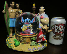 RARE Disney Lilo and Stitch Nani Elvis Party Celebration Snowglobe Music Box