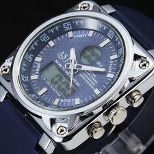 reloj digital de buceo de lujo multifunción 30m de los hombres a prueba de agua