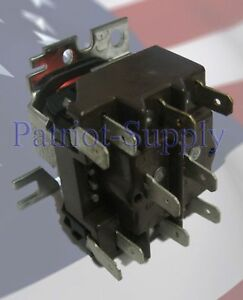 image is loading honeywell-r8222d1014-24-volt-coil-switching-relay-dpdt