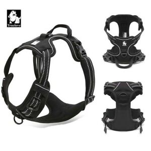 Truelove-No-Pull-Strong-Adjustable-Dog-Harness-Reflective-XS-S-M-L-XL-11-Colours