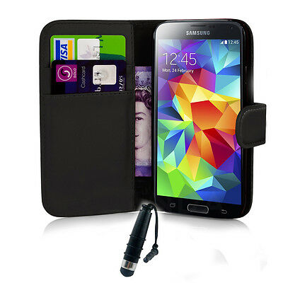 For Samsung Galaxy Mobile Phone New Folio Flip Wallet PU Leather Case Skin Cover