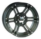 ITP - 1428381536B - Rear - SS212 Wheel, 14x8 - 5+3 Offset - 4/137 - Black